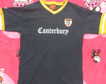 Tshirt Centurbury Athletics Print And Embroidery Yellow Ringer and Color