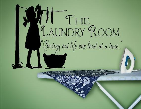 Laundry Room Decor Laundry Sign Laundry Room Decal Laundry