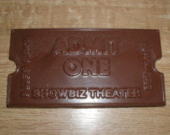 Theater Ticket Chocolate Mold