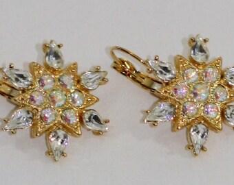 Kirks Folly Snowflake Earrings
