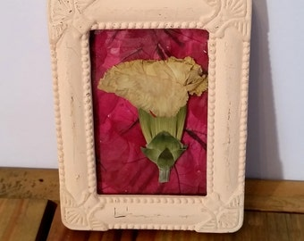 Politely Pink Pressed Flower Art