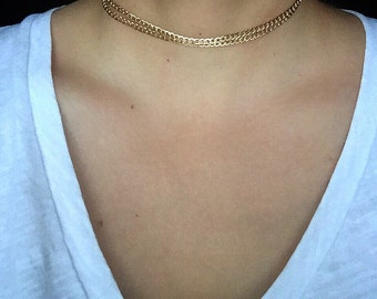 Current Gold Choker