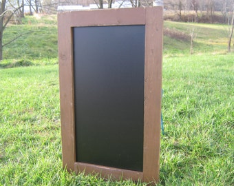 Rustic almond distressed extra large chalkboard farmhouse chalk board
