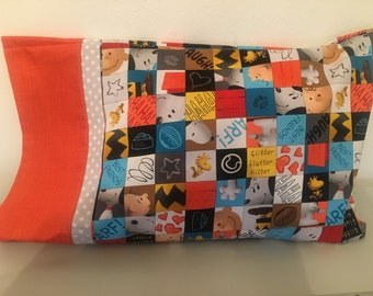 Snoopy Wild Travel Pillowcase