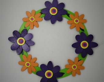 Zinnia Wreath