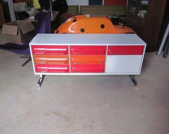 Space Age Mod Trecco Cabinet
