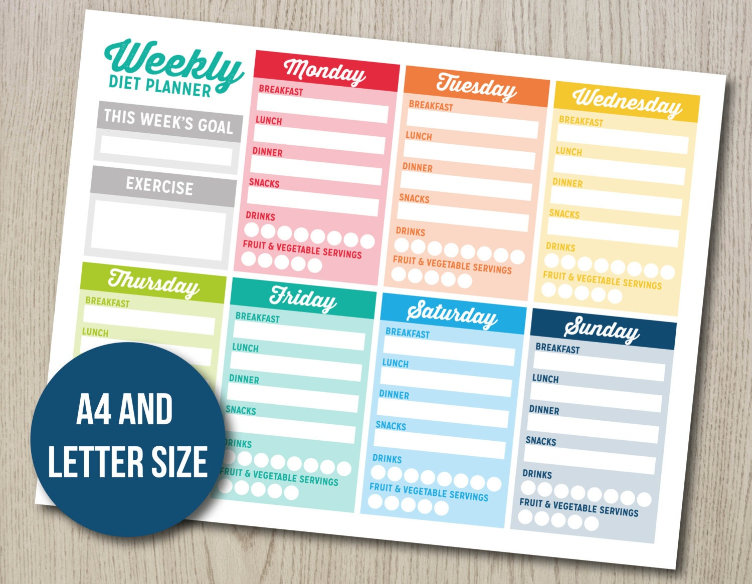 weight loss tracker journal