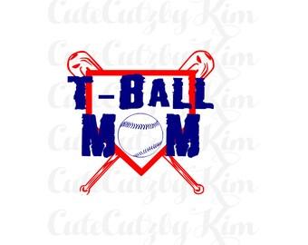 Tball Mom - Tball SVG