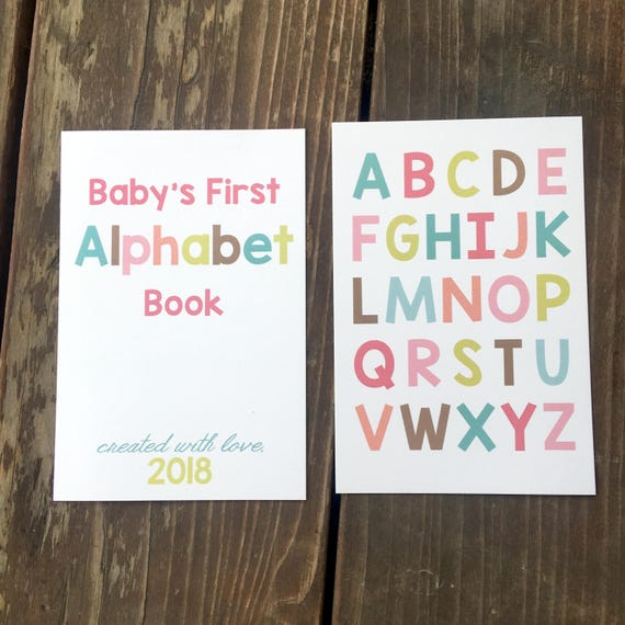 Instant download diy alphabet book baby shower activity instant download diy alphabet book baby shower activity game baby book do it yourself abc cards book baby shower activity download solutioingenieria Image collections