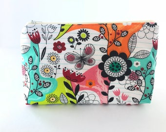 Cosmetic bag, makeup bag, travel accessory bag, makeup holder, toiletries, butterfly pouch