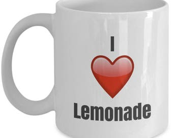 I Love Lemonade, Lemonade Mug, Lemonade Coffee Mug, Lemonade Gifts, Lemonade Lover Gift, Funny Coffee mug