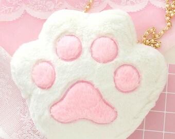 Cat Shoulder Messenger Bag Kawaii Fashion Plush Cute Sweet Lolita Harajuku