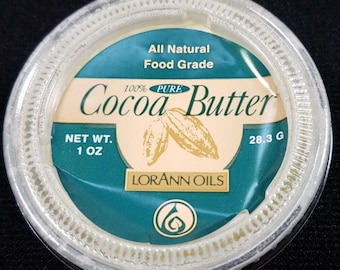 Cocoa Butter 1 oz. By LorAnn Oils - Paint on Chocolate TOL337