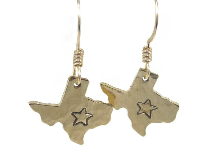 Texas Star Charm Earrings