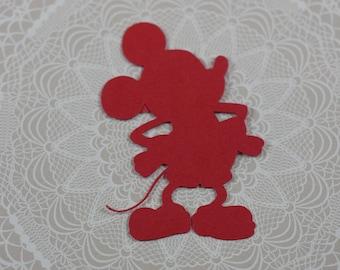 Mickey Mouse die cuts, Mickey die cuts, Mickey die cuts, Mickey Cut Outs, Mickey decoration, Mickey table decoration