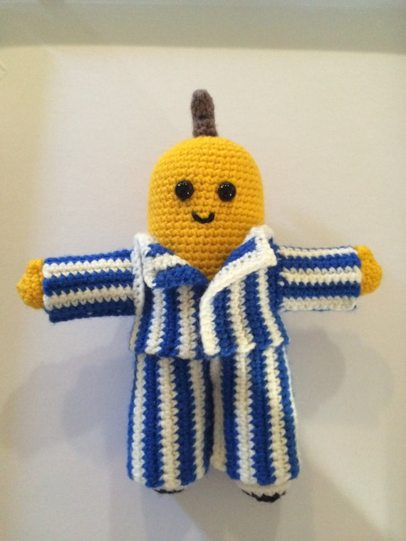 Bananas in Pyjamas Doll Crochet Tutorial