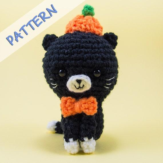 Crochet Amigurumi Pattern Pdf Pumpkin The Cat Cat
