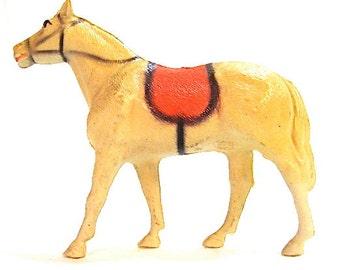 Vintage Celluloid Horse Toy Putz c1930