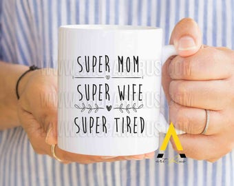 Mothers day gift for mom birthday, mom mug, gift from daughter, gift from son, thank you mom, funny mugs for mom, mom gift MU682