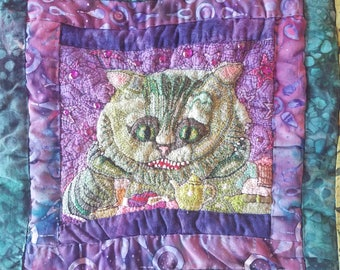Cheshire Cat Quilt Square