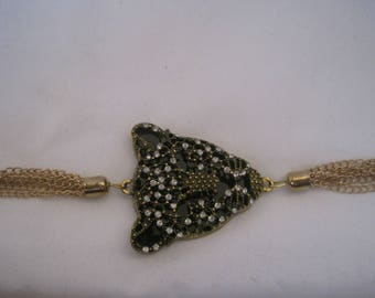 "8"" Leopard bracelet"