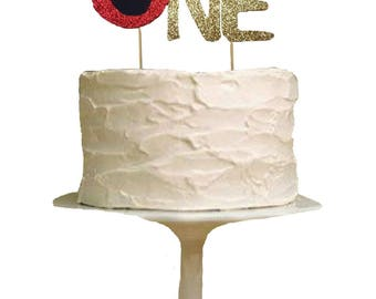 Elmo One Cake Topper, One Cake Topper, First Birthday Cake Topper, 1st Birthday Cake Topper, Elmo, Sesame Street