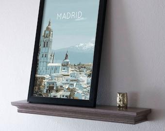 Madrid, Spain Poster 11x17 18x24 24x36