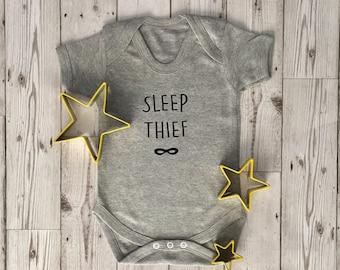 Sleep Thief baby grow short sleeve bodysuit