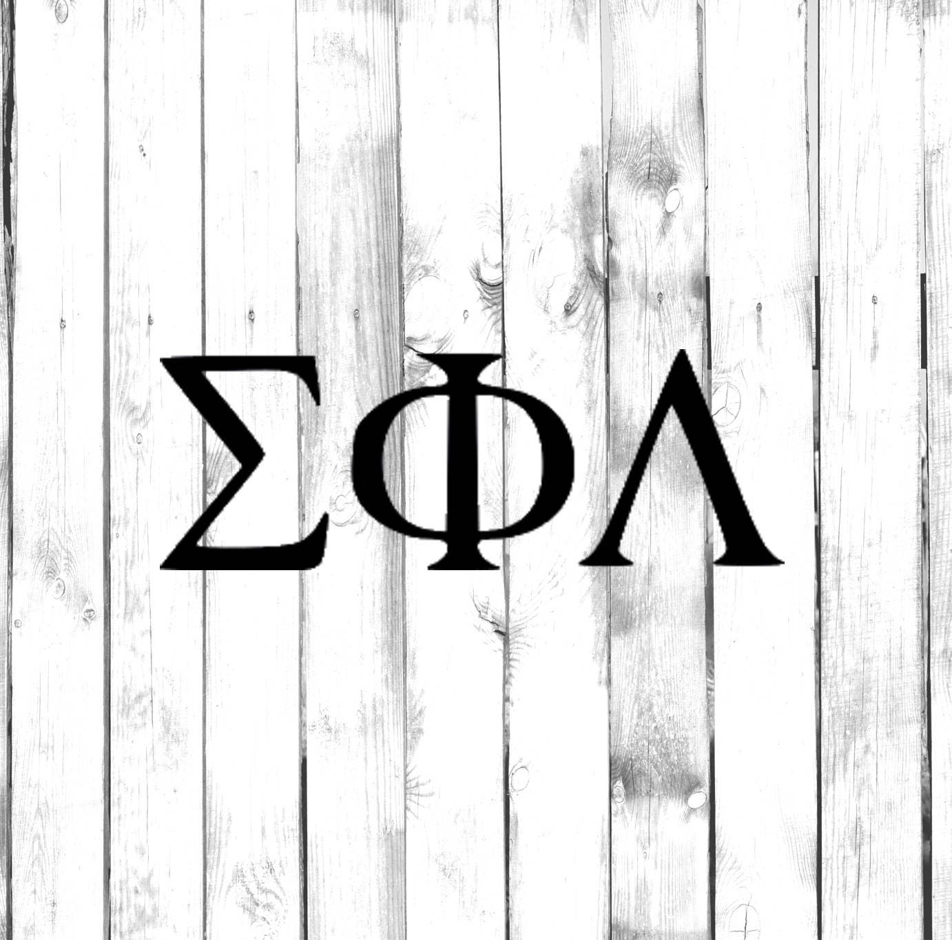 Greek Letter Decals Fraternity Sorority Symbols Cost Is For