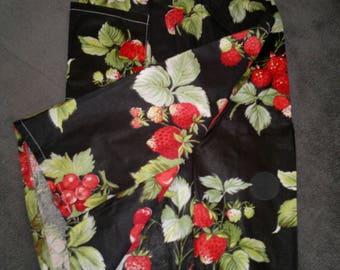 LOVELY Bermuda shorts in cotton - kids 12/14 black print