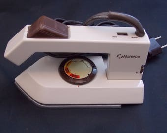 Norelco Spray and Dry Travelcare Travel Iron -- 1986