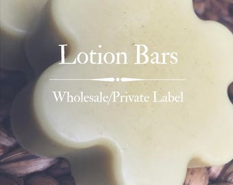Wholesale/Private Label Beeswax Lotion Bars {18 count}