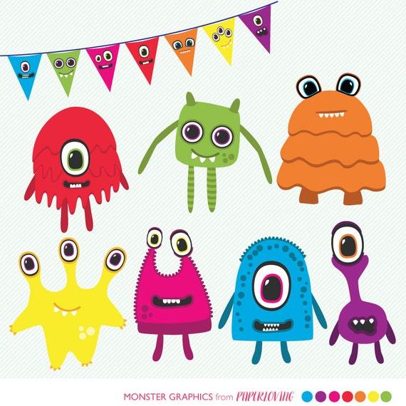 Monster Clipart: cute monsters clip art alien clipart alien
