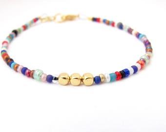 Friendship Bracelet, Bohemian Bracelet, Bohemian Friendship Bracelet, Minimal Bracelet, Seed Bead Bracelet, Miss Ceces Jewels Hawaii Jewelry