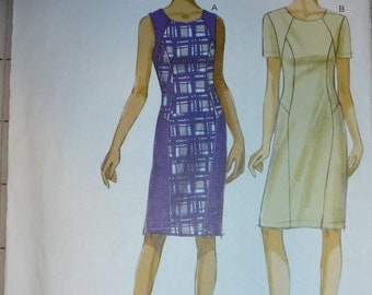 Vintage Very Easy Vogue Pattern 8995  Misses' Sheath Dress  Pattern   Sizes 8-10-12-14-16