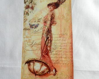 Beautiful lady transfer of the belle epoque fashion No. 5
