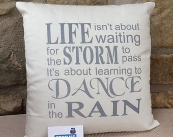 Quote Text Cushions - choose your own words