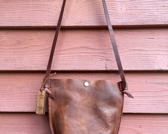 Cross Body Leather Bag* Leather Handbag* Cross Body Bag* Small Leather Handbag* Boho Leather Cross Body* Sak Cross Body Bag