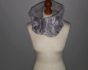 "Adult ""pull-on"" reversible Snood"