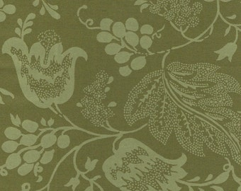 Dutch Chintz - Green - Ton sur Ton FQ