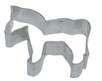 Horse cookie cutter or Zebra Cookie Cutter New Western Farm or Zoo
