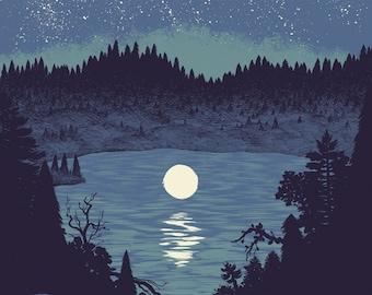 Moonlight Print
