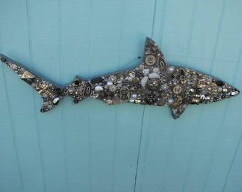 Gray Shark (large) #1243