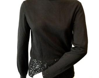 Stunning Badgley Mischka Beaded Sweater