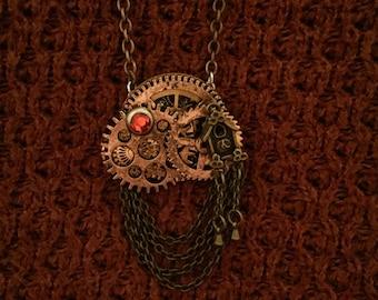 Steampunk pendant coocooclock