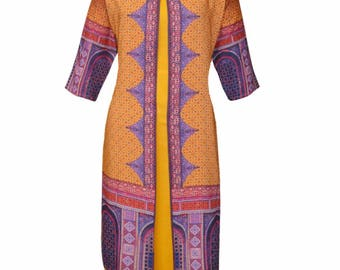 Cotton printed ethnic Kurti/Tunic | summer collection | classic look | jacket style |