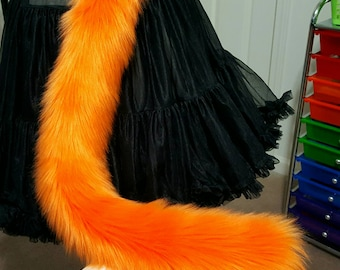 Orange Kitty Tail