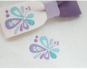 Machine embroidery design patterns 'Secret garden', digital file instant download