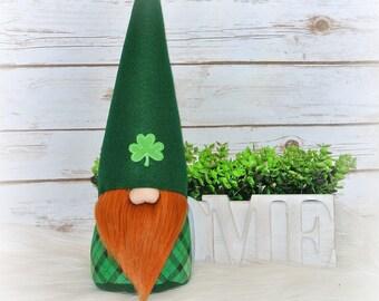 Irish Gnome, St. Patrick's Day Gnome, Tomte, Nisse, Nordic Gnome, Scandinavian Gnome