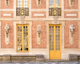 Front Facade of the Versailles Palace - France Travel Architectural Fine Art Photography Print